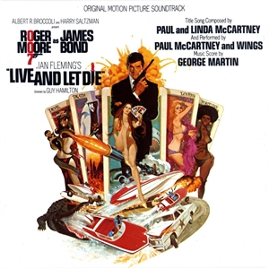 Live and Let Die Soundtrack Cover Art