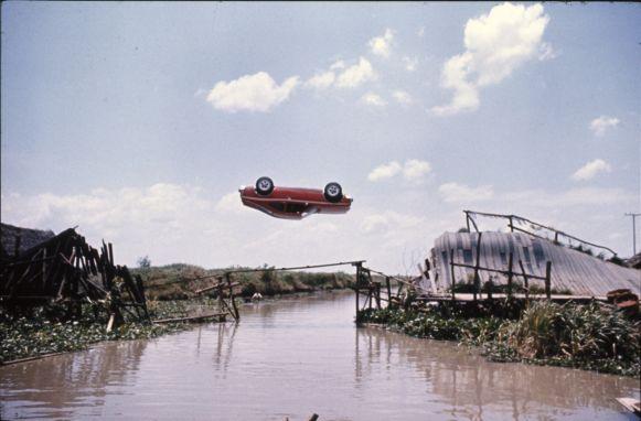 360 Degree Jump Movie Stunt