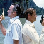 Roger Moore and Christopher Lee Duel